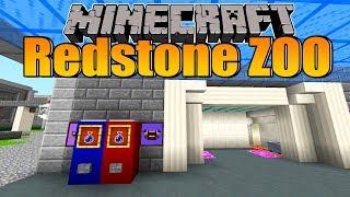 Getränkeautomaten & komische Glasdinger! - Minecraft Redstone Zoo #20