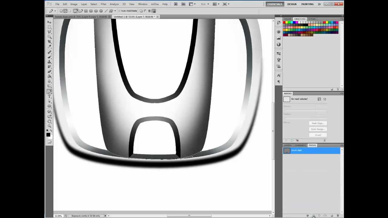 how to make logo in photoshop cs3