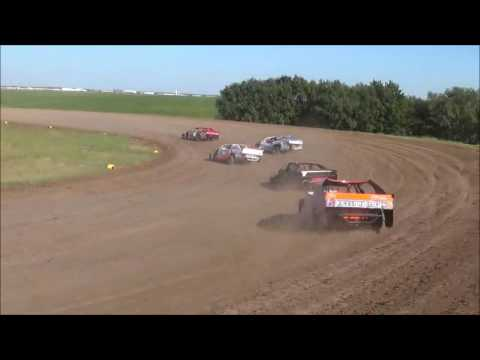 Salina Speedway M&H Motors IMCA Northern SportMods 9-19-16