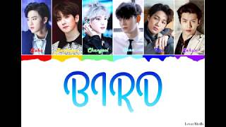 Exo 엑소  - Bird Lyrics  일본어가사_한국어발음_한국어번역   Color Coded_kan_rom_eng