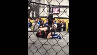 Yerick Kelly fight 2 @ MMA Clinic
