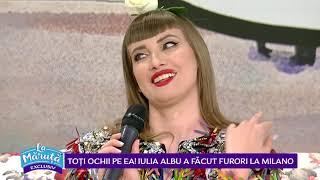 Iulia Albu, despre saptamana modei la Milano si iubitul ei