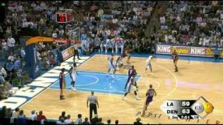 Lakers vs. Nuggets 1-11-08