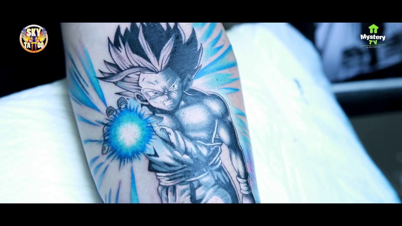 Tatuaż Dragon Ball Gohan Ssj2 Gohan Ssj2 Tattoo