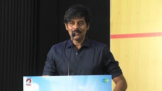 Hero Tovino Thomas Lip Lock Exports Actor Natty Speech at Abhiyum Anuvum Press Meet   YOYO TV Tamil