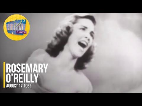 "Rosemary O'Reilly ""Danny Boy"" on The Ed Sullivan Show"