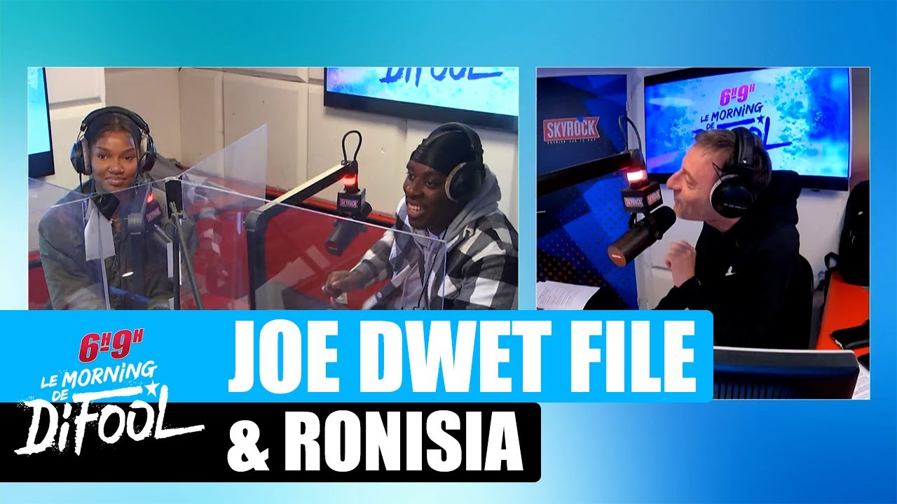 "Joé Dwet Filé & Ronisia - Interview ""Egoïste"" #MorningDeDifool"