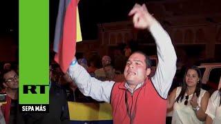 La oposición gana las elecciones parlamentarias de Venezuela