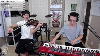 Chewiemelodies X Jasonyangviolin Collab Stream #4 4.11.18