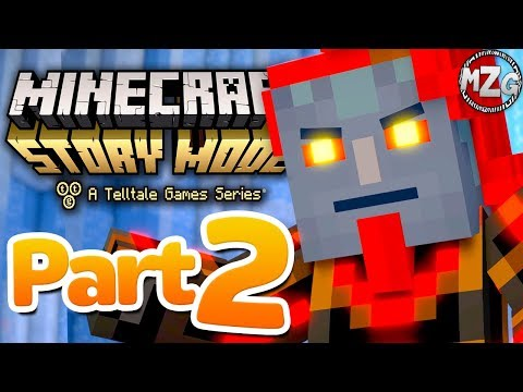 The Admin REVEALED! - Minecraft: Story Mode Season 2: Episode 2 - Part 2 (Giant Consequences)