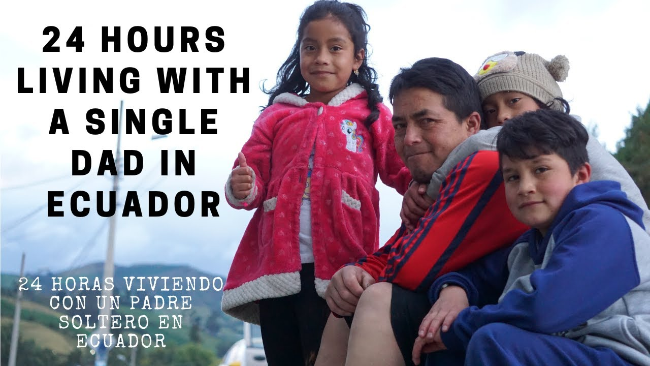 This is how a single father lives in South America  (Ecuador Travel Vlog)