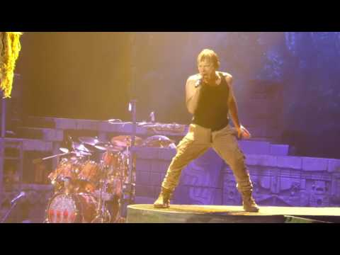 """Fear of the Dark"" Iron Maiden@Prudential Center Newark, NJ 6/7/17"