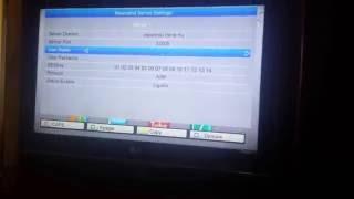 Configurar teste servidor 250 canais funcionando cs central