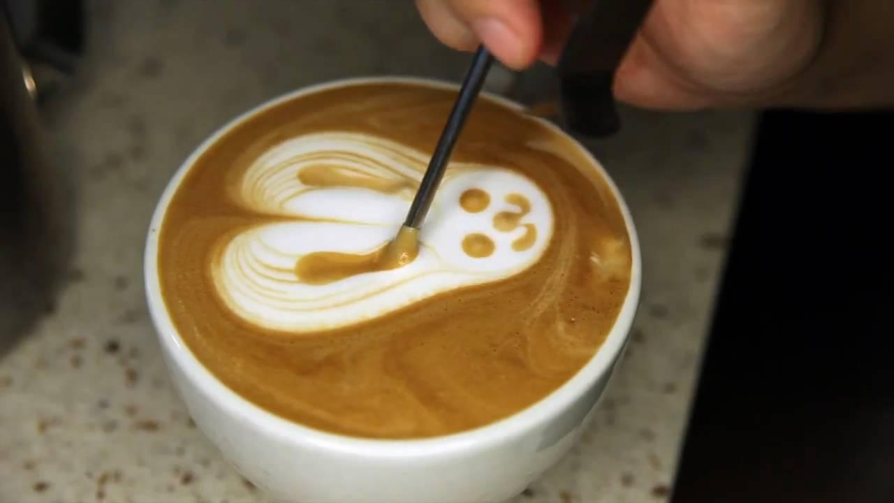 blenz coffee latte art youtube. Black Bedroom Furniture Sets. Home Design Ideas