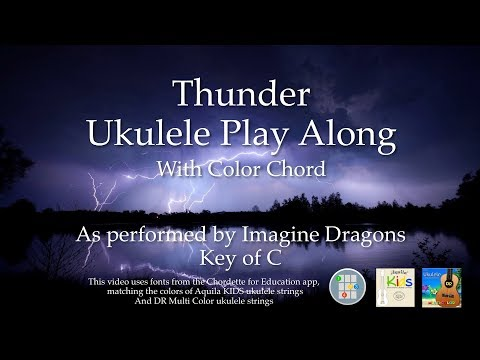 Thunder Ukulele Play Along -  Easy