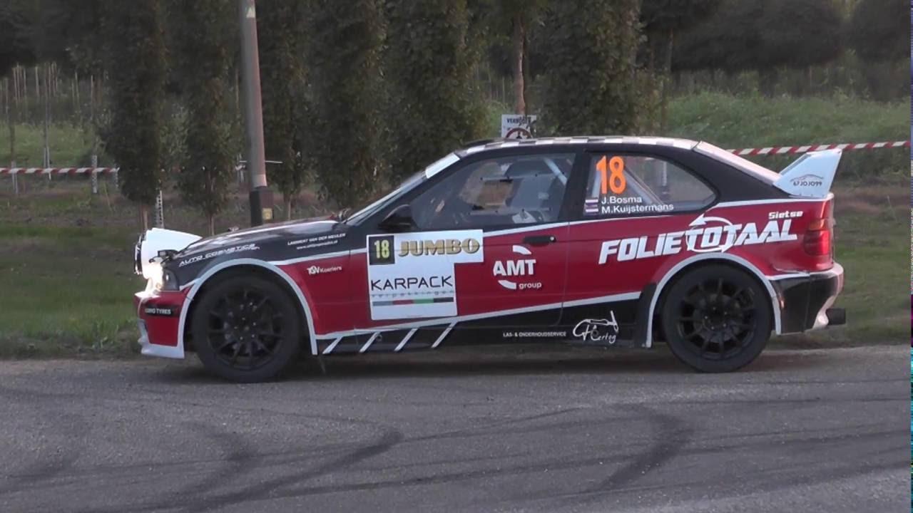 Gtc Rally 2016 Bosma Kuijstermans Bmw Compact Youtube