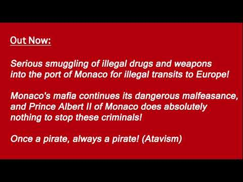 Smuggling of dangerous drugs and weapons through Monaco's port!