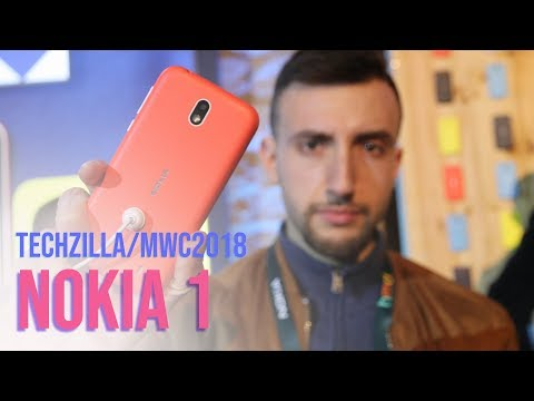 Nokia 1 con ANDROID GO Hands-on - MWC 2018