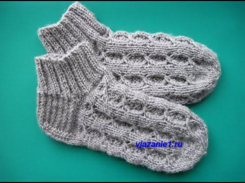 Носки, следки, тапочки вязаные крючком, спицами.