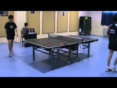 Τελικός 8ου Τουρνουά Πινγκ-Πονγκ Δήμου Κοζάνης - Part 1