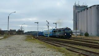 SU46-011 i ET22-135 prowadzą Eszelon (Leszno Górne - Orzysz).