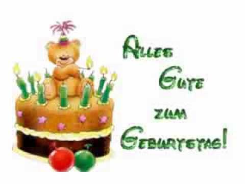 Открытки на день рождения мужчине на немецком языке