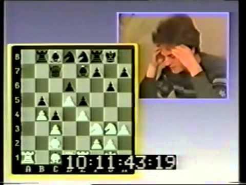 John Nunn vs Nigel Short. Ajedrez Televisado.