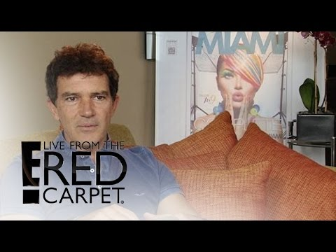 "Antonio Banderas Talks ""Reinventing"" Himself 