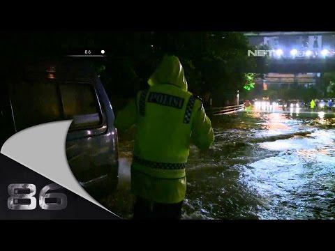 86 - 12 Februari 2015 - Penanganan Banjir di Grogol Jakarta Barat AKBP Yossie Paulus