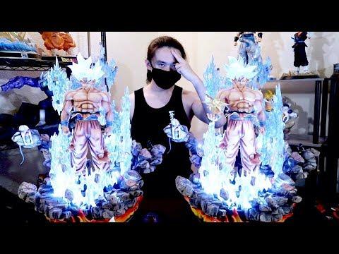 Mastered Ultra Instinct! UNBOXING FC 1/4 MUI Goku Resin Statues - Dragon ball Figure
