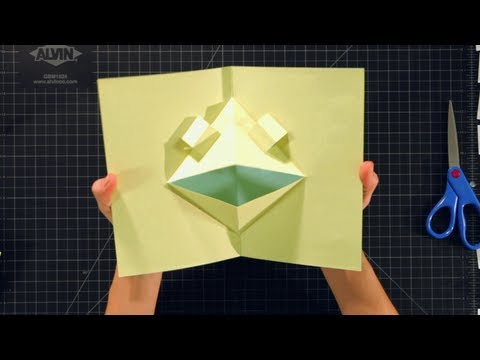 How to Make a Basic Face Pop-Up Card | Pop-Up Cards