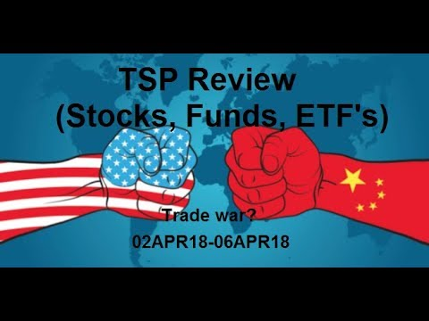 02APR18-06APR18 TSP, ETF, and Funds stock review