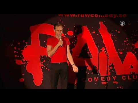 RAW Kanal 5 Peter Wahlbeck, Dialekter, Riktigt rolig