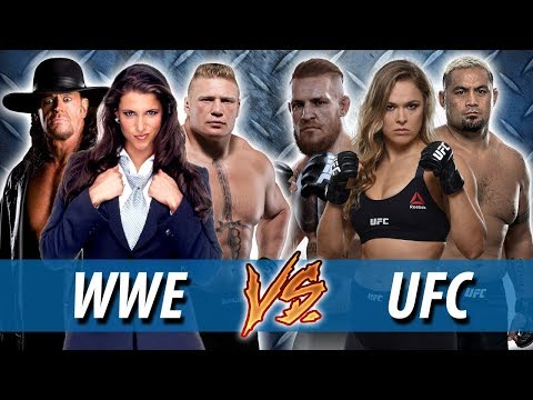 WWE vs UFC : Which is more popular globally?