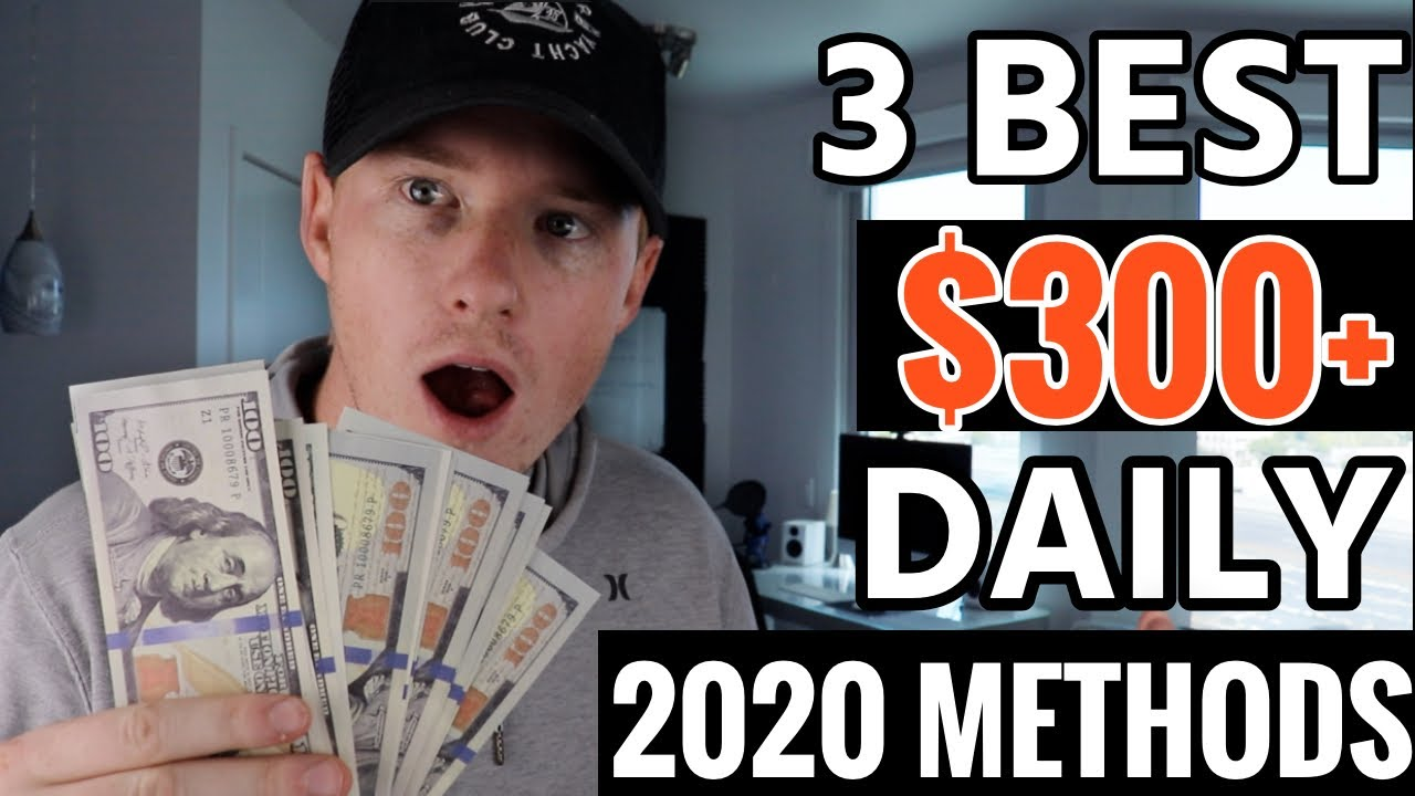 3 BEST Ways to Make Money Online in 2020!