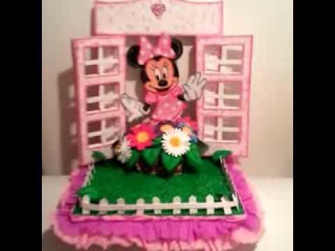 Chupetero Minnie en la ventana - YouTube