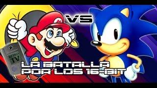 Memory Card #22: Sonic VS Mario La Batalla por los 16 Bits
