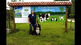 Celine Payen (éleveur de vaches laitières) - Eleveur Ambassadeur Bleu-Blanc-Coeur