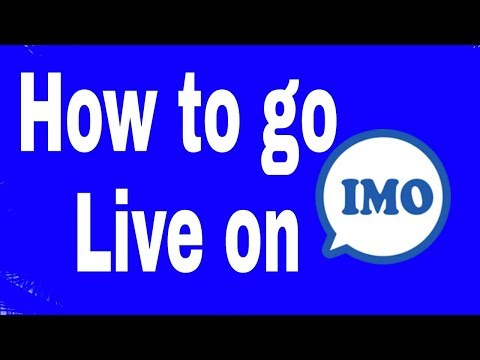 How to go live on IMO new update 1 December 2017