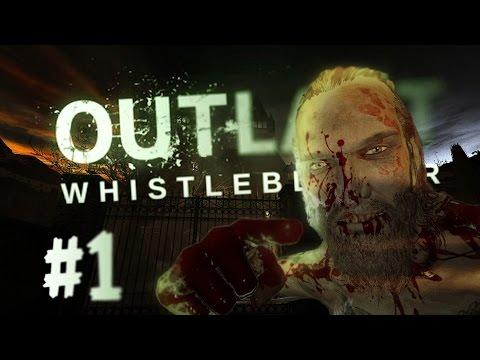 Outlast Whistleblower: быстрое прохождение на уровне Псих