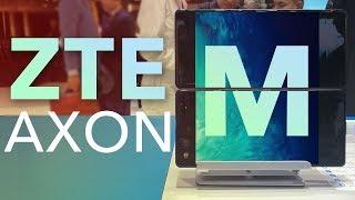EL PRIMER TELÉFONO CON 2 PANTALLAS - ZTE AXON M