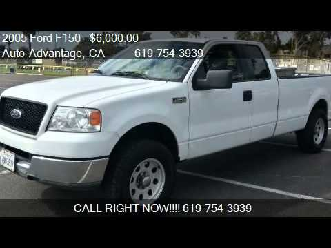 2005 ford f150 xlt extended cab 8 ft bed for sale in san die youtube. Black Bedroom Furniture Sets. Home Design Ideas