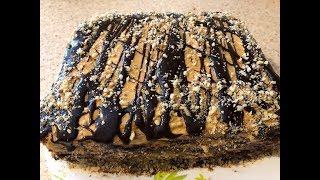 Торт шоколадно-медовый за 15 минут! Оторваться невозможно!!!