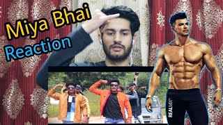 MIYA BHAI HYDERABADI | Official Video | Reaction | Sahil Khan | RUHAAN ARSHAD | Mr Sethi