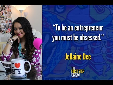 The First Step Podcast - Jellaine Dee of Cherry Blooms: Creating a $100M business