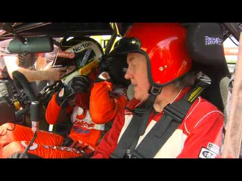 TOP GEAR STAR DRIVES CRAIG LOWNDES' V8 SUPERCAR  - Colour