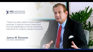 ADEC Innovations CEO James Donovan at the Asia CEO Forum 2021 - Part 1