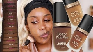 How To SHADE MATCH Born This Way Foundation Tips  DEMO  Jackie Aina