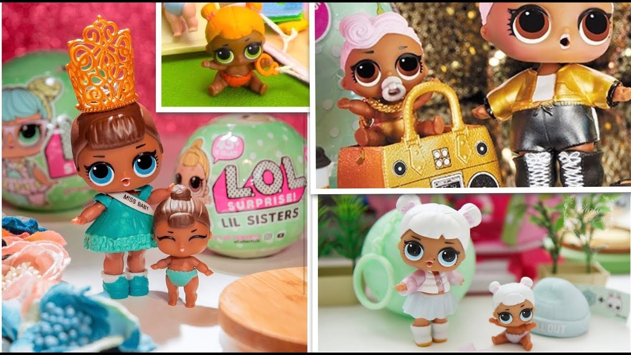Unbox Lol Surprise Dolls Lil Sisters Series 2 Wave 1 Wave 2 Lil