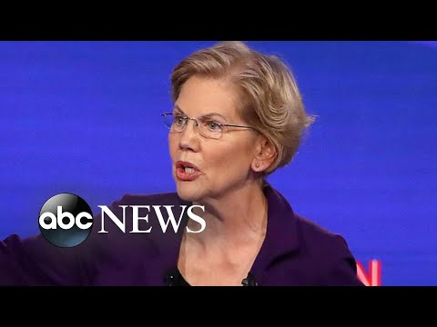 Democratic debate in Ohio: Dems spar over Biden's son, wealth tax, health care | Nightline
